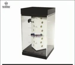 Automatic Revolving Sunglasses Display Stand For Sunglasses