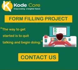 Form Filling Project Service, Online