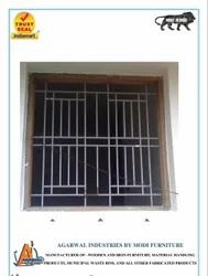Steel Polished Window Grills, Material Grade: SS304