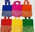 Standard Printed Raw Silk Gift Bags