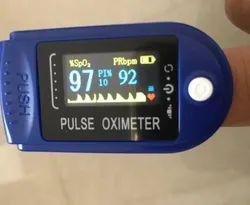 Premium Pearl White Finger Pulse Oximeter