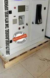 Diesel Dispenser With Inbuilt Tanker
