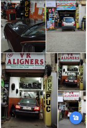 Car Wheel Alignment Balancing Service With Weights And Nitrogen