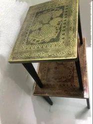 KAPTOWN Iron Matel Tea Table S2, Size: 45x35x35 Cm