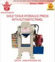 Gold Tool Jewellery Hydraulic Press With Automatic Panel