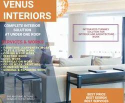 Interior Designer Service, Work Provided: Wood Work & Furniture