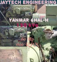 180HP Yanmar 6HAL-H Marine Generator
