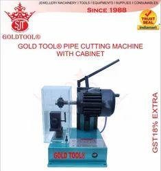 Gold Tool Tube Pipe Cutting Machine With Cabinet