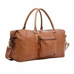 Brown Plain MBE/DFL/02 Leather Bag