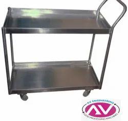 Stainless Steel Kitchen Rack/ Storage Rack/ Canteen Storage Rack/ SS Plate Rack