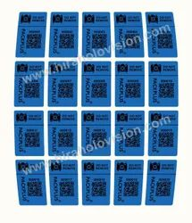 Packplus Camera Evident Labels.