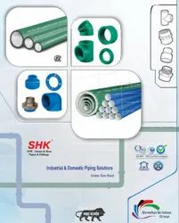 Distributor For SHK PPR - Green & Blue Pipes And Fittings
