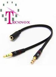Mic Audio Splitter Cable