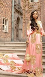 Somali Wedding Dress Three Piece Set
