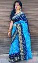 Silk Blend Bandhani Saree