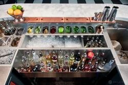 Cocktail Station With Sink Unit