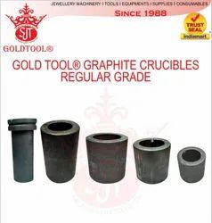 Gold Tool Graphite Crucible Regular Grade