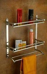 Shelf With Napkin Stand