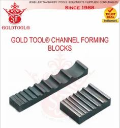 Gold Tool Double Side Grooving Swage Block