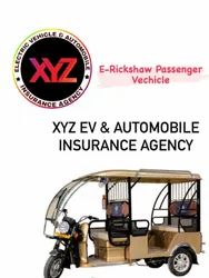 E Rickshaw Passenger Vehicle Insurance