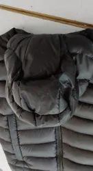 Men Hooded Down Feather Jacket Sleeveless