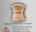 Round China Bamboo Sticks A Grade, Packaging Type: Pp Bags