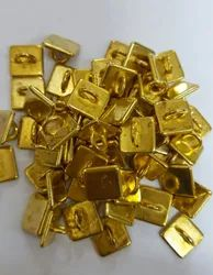 Asian Impex Fancy Metal Button, For Garments, Packaging Type: Packet