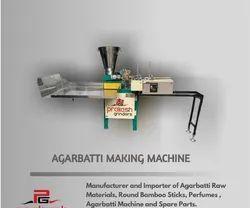 Agarbatti Making Machines, Production Capacity: 10-15 kg/hr, 200-250 strokes/min