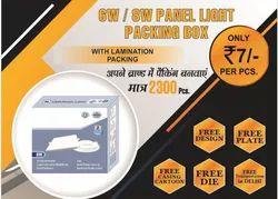6W-8W LED Panel Light Packaging Box