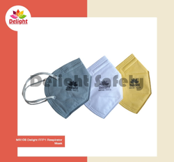 Disposable Delight MR108 FFP1 Respirator Mask, Number of Layers: 4
