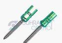 Pedicle Screw Reduction Polyaxial Screw Single Lock