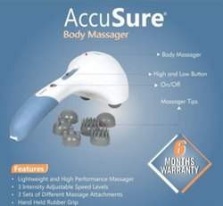 Blue ABS Accusure Body Massager