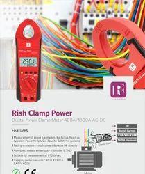 300AMP AC/DC Tong Tester Rishabh Digital Clamp Meter True RMS 300 AMP AC-DC
