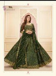 Wedding Sakhi Bridal Dress