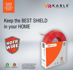 VR Kable 4.00 Sqmm HDFR Unilayer Wire