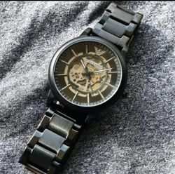 New Black Armani Watches, Model Name/Number: Sw 23