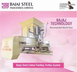 Automatic Cotton Feeding Trolley System
