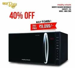 Capacity(litre): 23l 800w Microwave Oven, For Personal, Mwo 23 Mcg