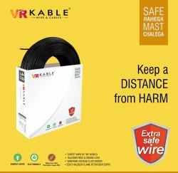 VR Cable 10.00 SQMM Extra Safe Wire