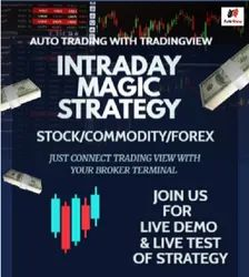 Auto Trading With Tradingview - Intraday Magic Strategy_
