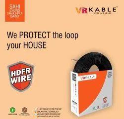 VR Kable 10.00 Sqmm HDFR Unilayer Wire