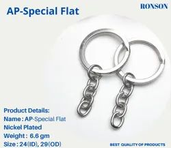 AP Special Flat Key Chain Ring