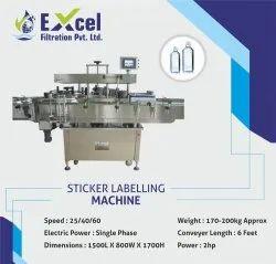 Single Sided Sticker Labelling Machine