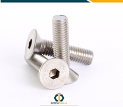 CSK,Button Din Allen Key CSK Head Bolt, Grade: 10.9 And 12.9 Grade, Size: From 2 Mm And Above