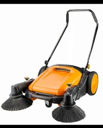 IEPL Mechanical Manual Sweeper 55 Litres Capacity For Office, 20 Kg