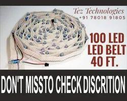 RGB 40 Feet Pixel LED Belt WS2811 Complete Set, For Industrial