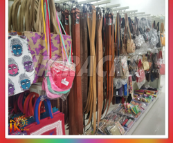 Bag And Belt Hanging Display Rack