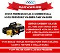 Portable Commercial Car Washer - Super Energy Saver & Continuous Duty