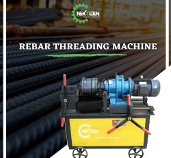 Tapered Threading Machine