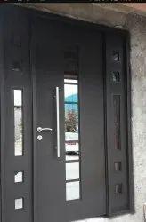 Home Iron Black Door